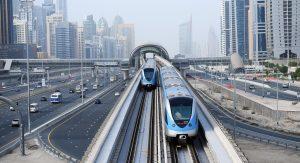 Dubai metro and tram network