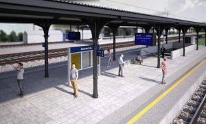 Katowice Airport rail