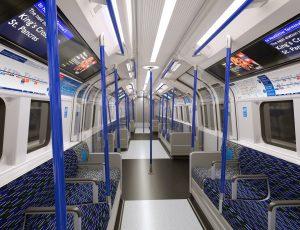 new Tube trains