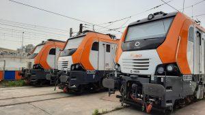 Prima M4 electric locomotives