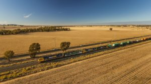 Junee to Griffith rail