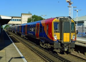 Class 458 train fleet