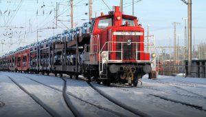 hybrid battery-diesel shunting locomotives