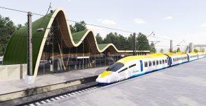 Rail Baltica high-speed train