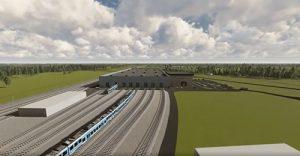 Ülemiste rolling stock depot