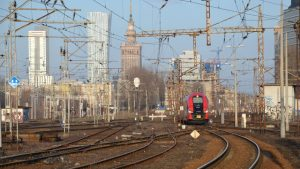 Warsaw cross-city line