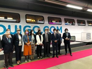 low-cost high-speed train