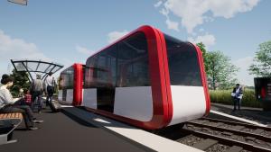 autonomous railpods