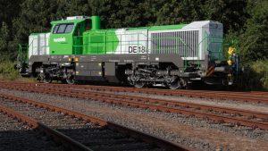DE 18 freight locomotives