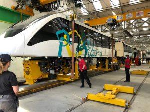 Innovia 300 driverless train