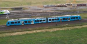 Hydrogen passenger train