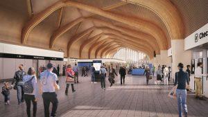Interchange high-speed station
