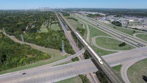 Dallas-Huston high-speed rail