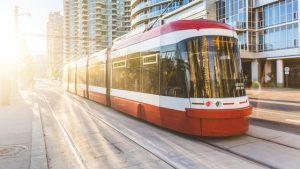 Flexity light rail vehicles