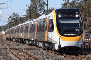 electric train fleet