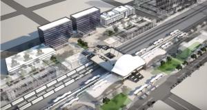 Palmdale high-speed rail station