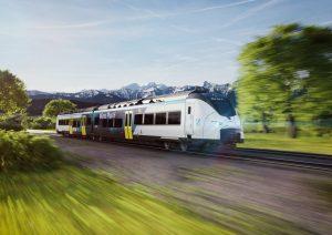 hydrogen-powered train