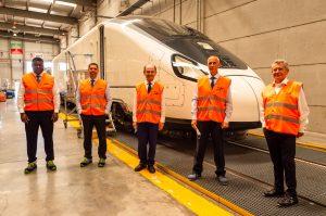 renewable hydrogen-powered trains