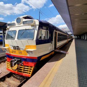 fully accessible suburban train