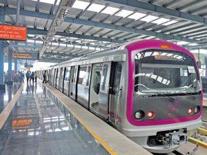Bangalore metro rail system