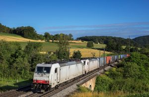 Duisburg – Segrate rail route