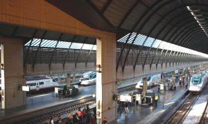 Madrid-Seville high-speed rail