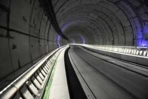 Madrid railway node