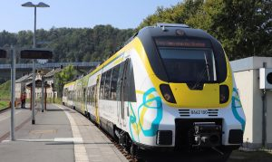 battery-electric train