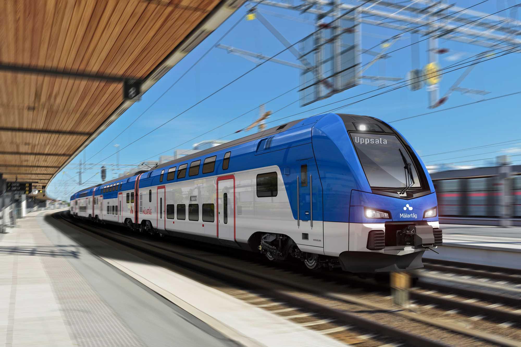 EIB funding agreement for the new Mälartåg EMUs