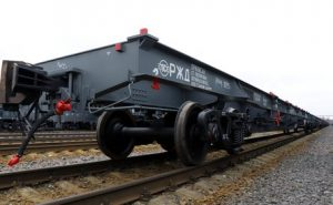 container flat railcars