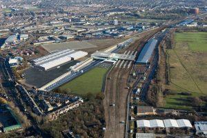 Washwood Heath train depot
