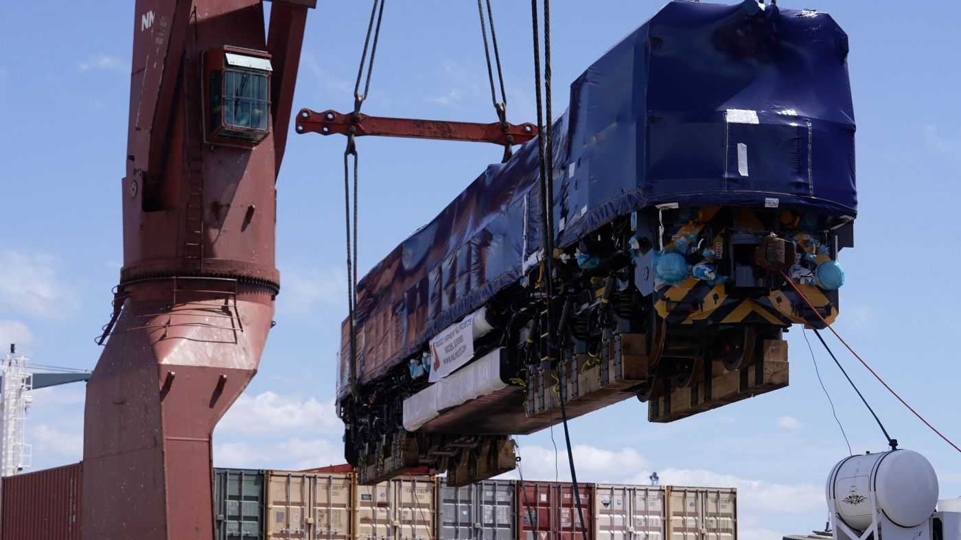 Bowen Rail unveils its new locomotives