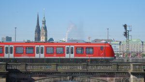 S-Bahn trains