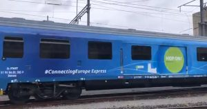 Connecting Europe Express train
