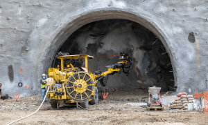 tunnelling works