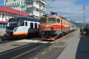 electric passenger trains