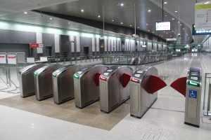 automatic fare collection gates